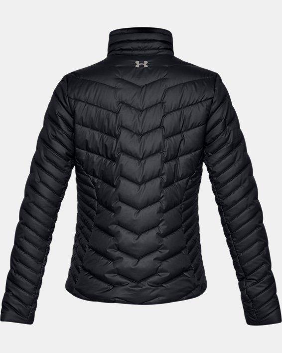 Women's ColdGear® Reactor Jacket, Black, pdpMainDesktop image number 4