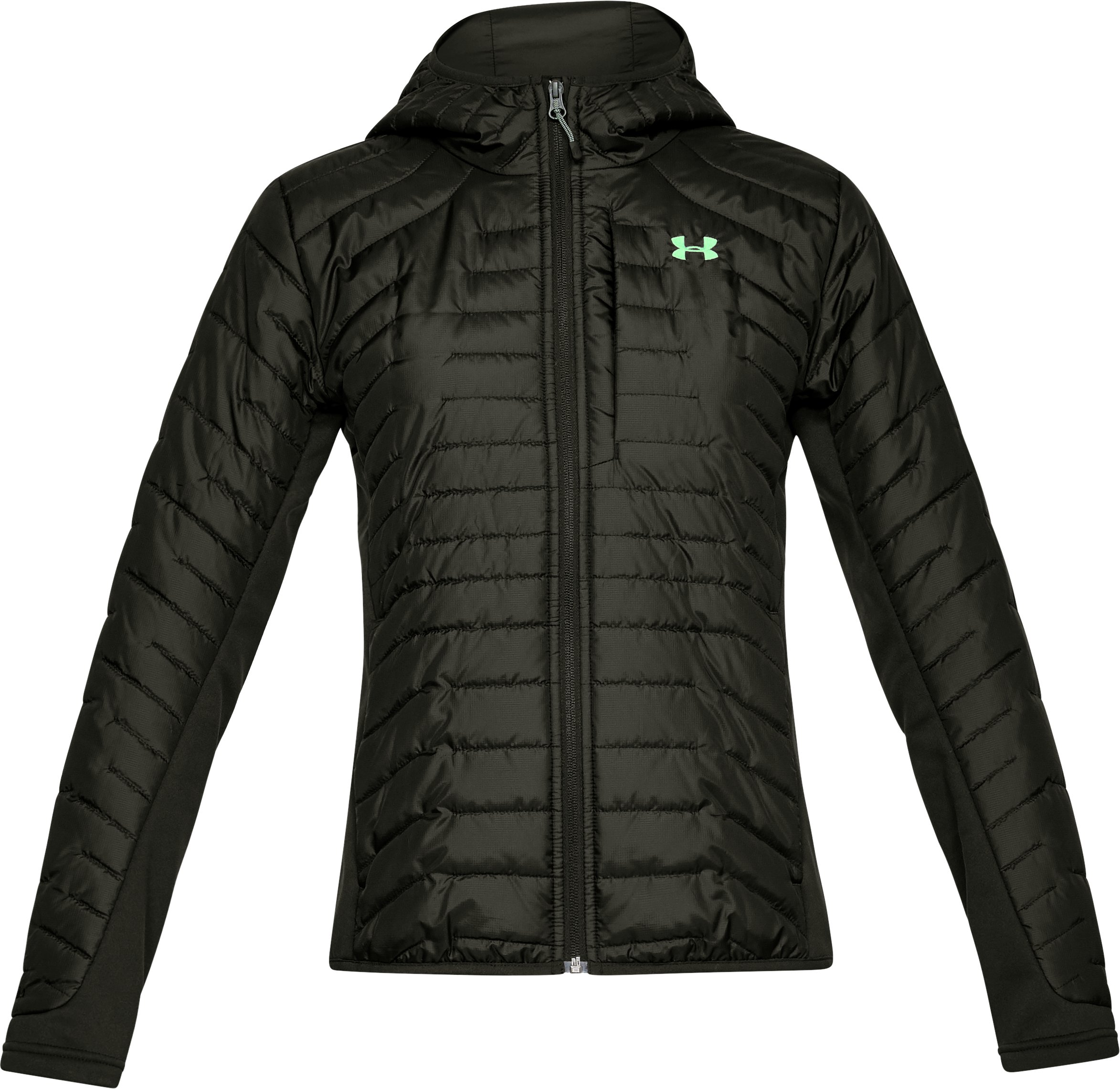 Women's ColdGear® Reactor Hybrid Jacket, Artillery Green,