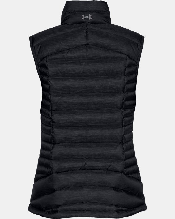 Women's UA Iso Down Vest, Black, pdpMainDesktop image number 4
