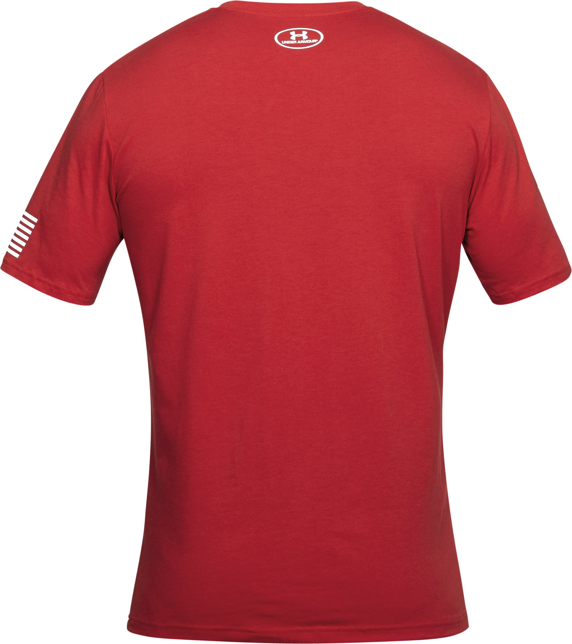 Men's UA USA Verbiage T-Shirt, Red, undefined
