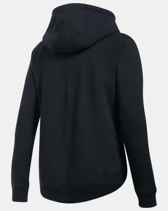 Women's UA Fashion Favorite Word Graphic Pullover, Black, pdpMainDesktop image number 4