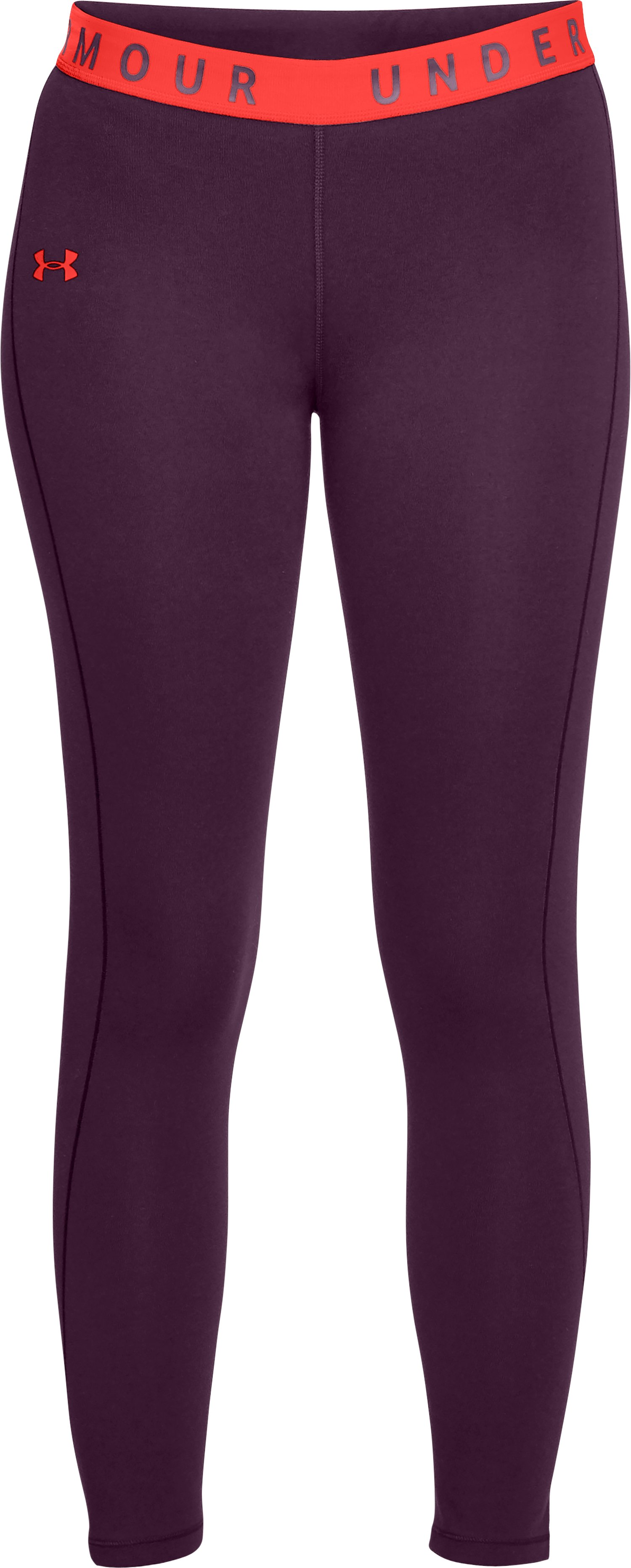 Women's UA Favorite Crop, MERLOT,