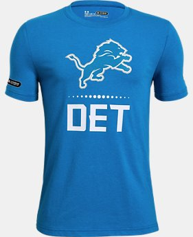 New Arrival Boys' NFL Combine Authentic Lockup T-Shirt  1  Color Available $28