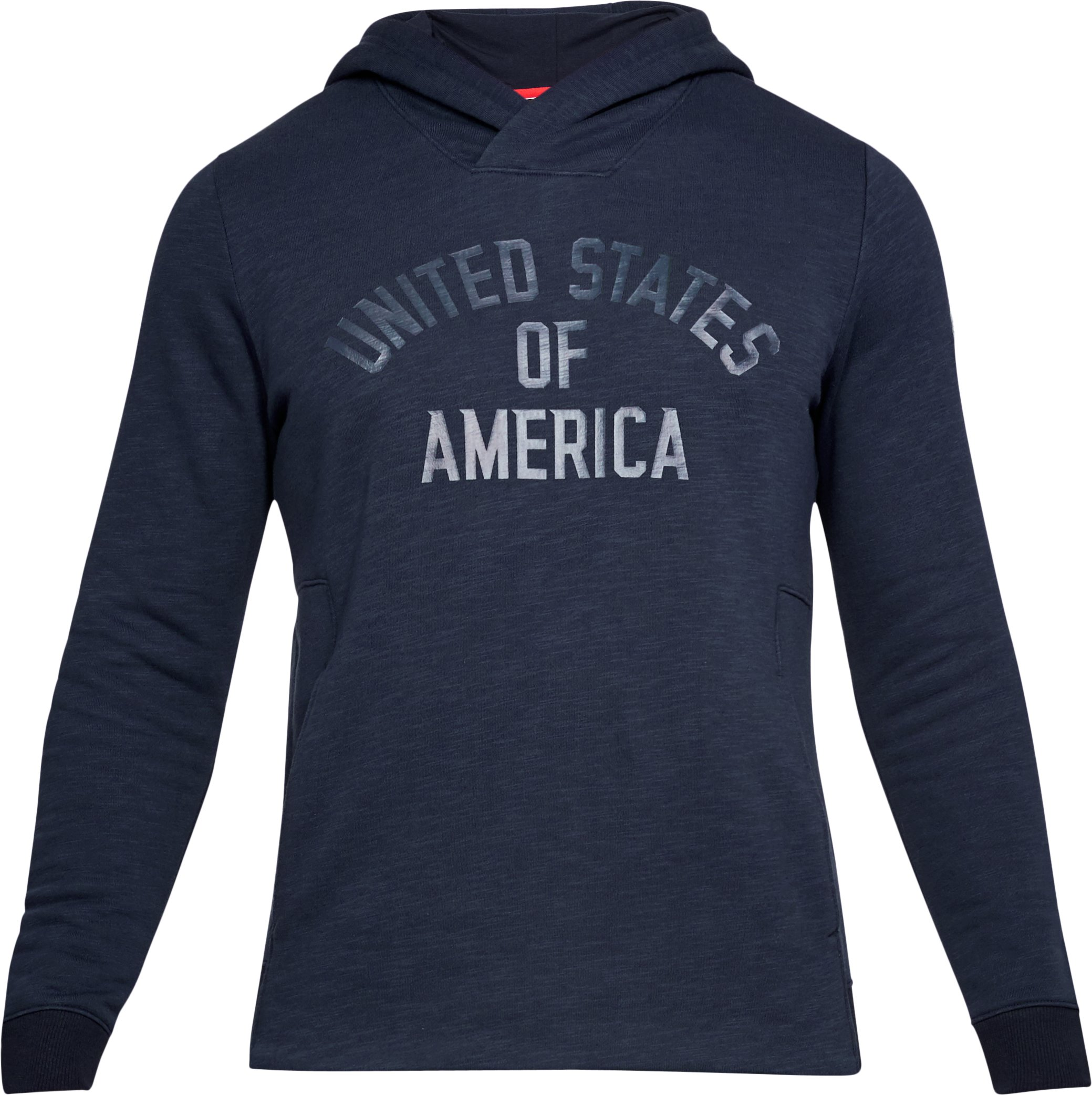 Men's UA Stars & Stripes Fleece Hoodie, Midnight Navy, undefined