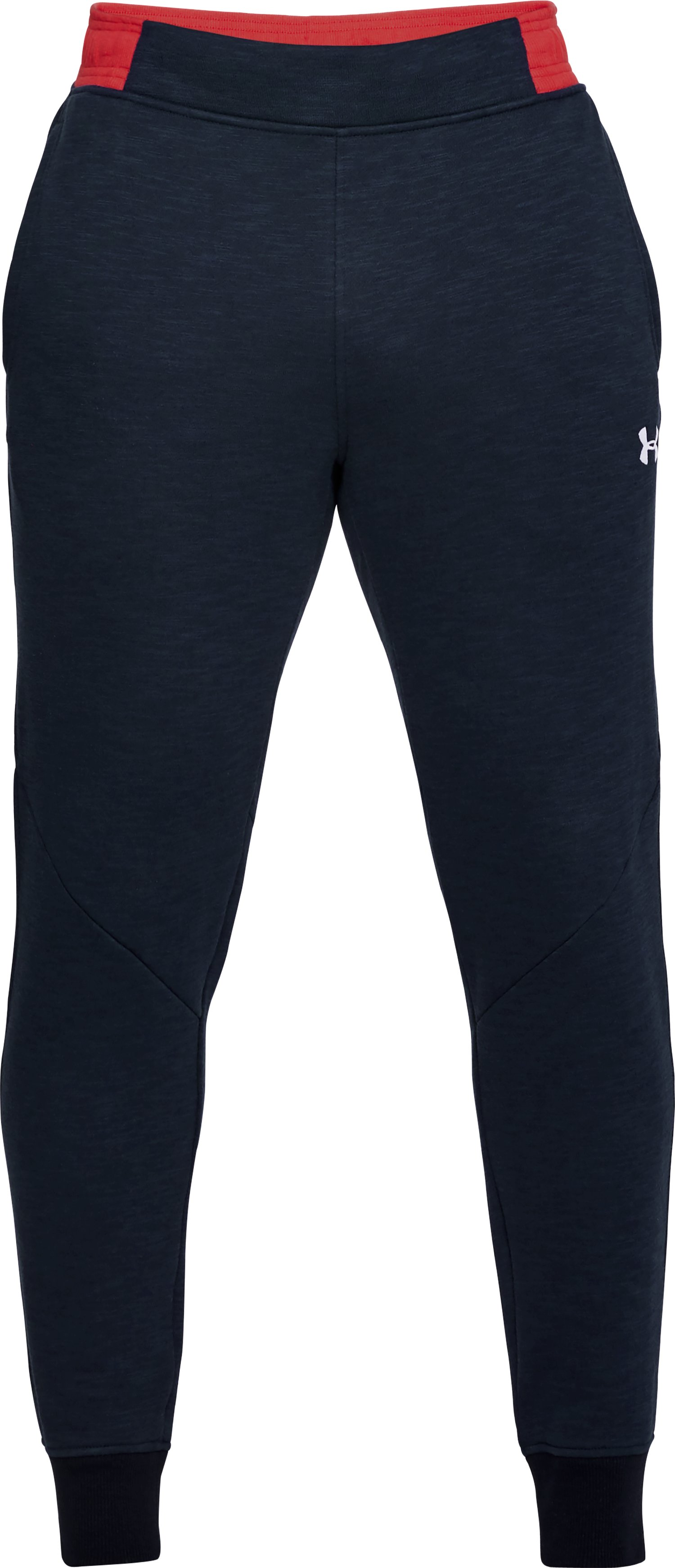 Men's UA Stars & Stripes Fleece Pants, Midnight Navy, undefined