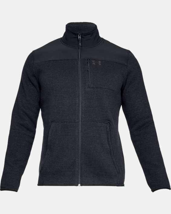 Men's UA Specialist 2.0 Jacket, Black, pdpMainDesktop image number 3