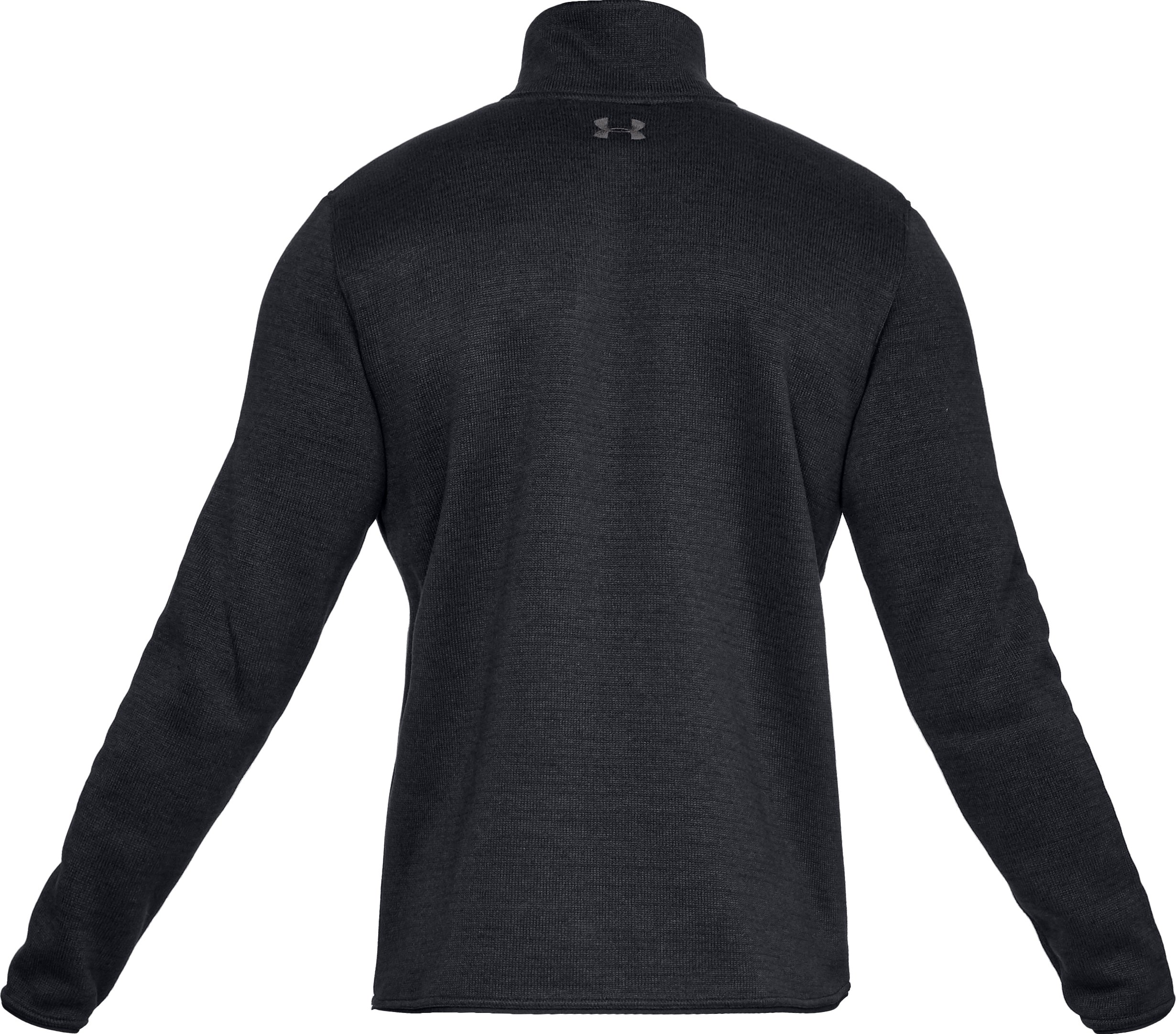 Men's UA Specialist Henley Long Sleeve, Black ,