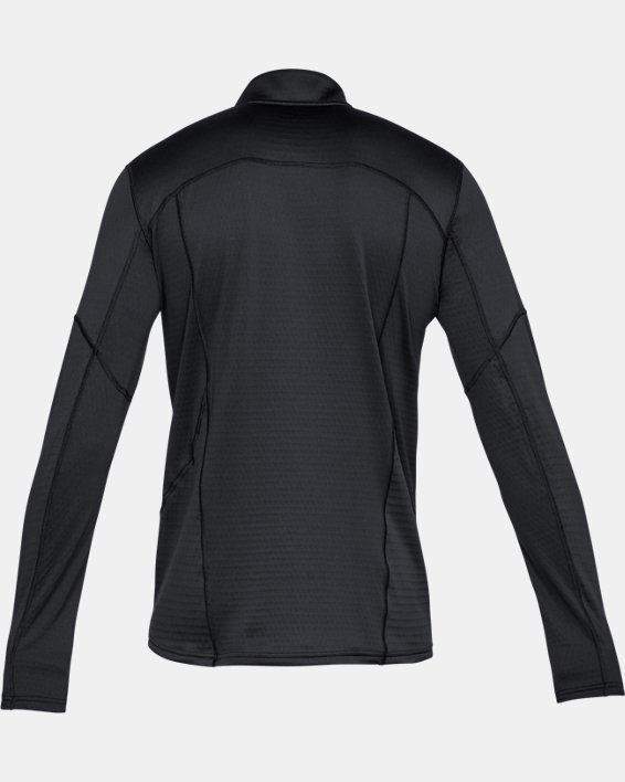 Men's UA Spectra ½ Zip, Black, pdpMainDesktop image number 4