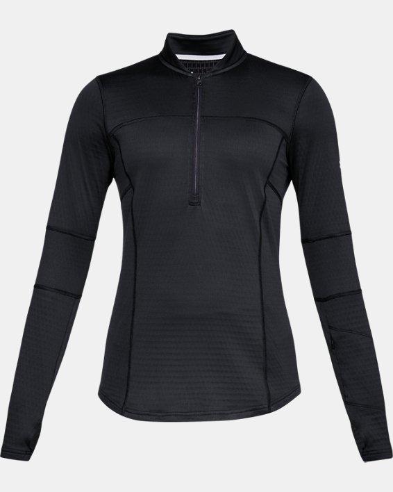 Women's UA Spectra ½ Zip, Black, pdpMainDesktop image number 3