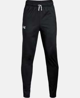 Boys' UA Brawler Tapered Pants  2  Colors Available $22.5