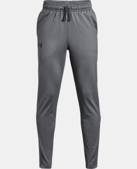 Boys' UA Brawler Tapered Pants  1  Color Available $22.5