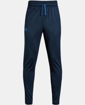 Boys' UA Brawler Tapered Pants LIMITED TIME: FREE U.S. SHIPPING 1 Color $30