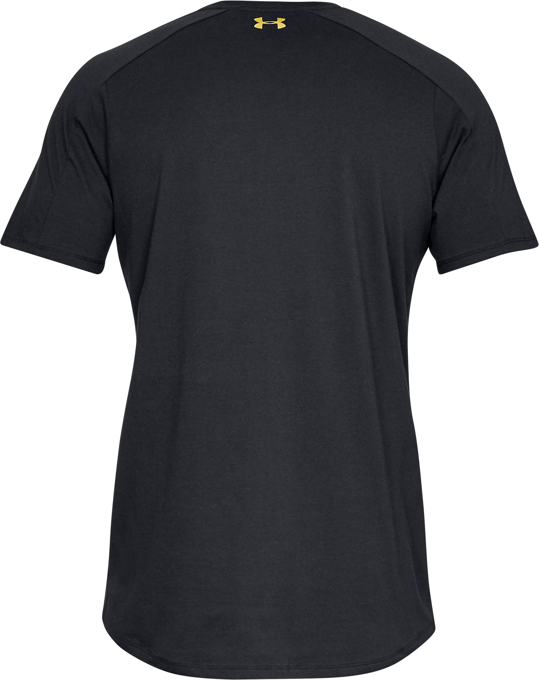 Men's UA Perpetual Graphic Short Sleeve, Black ,