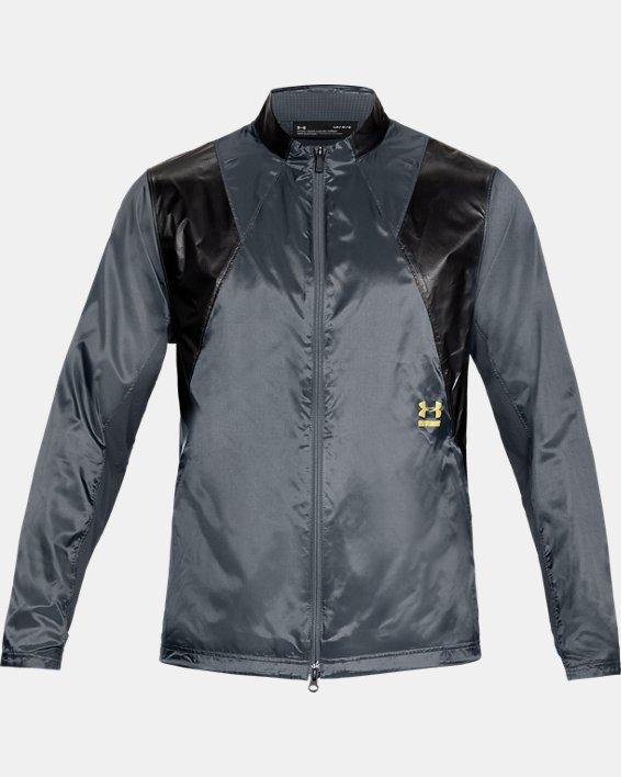 Men's UA Perpetual Jacket, Gray, pdpMainDesktop image number 4