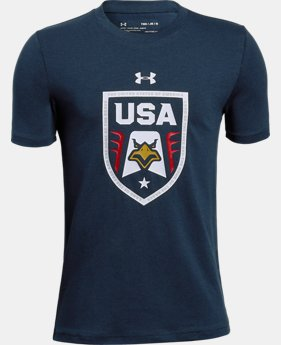 New Arrival Boys' UA USA Eagle T-Shirt  1 Color $19.99