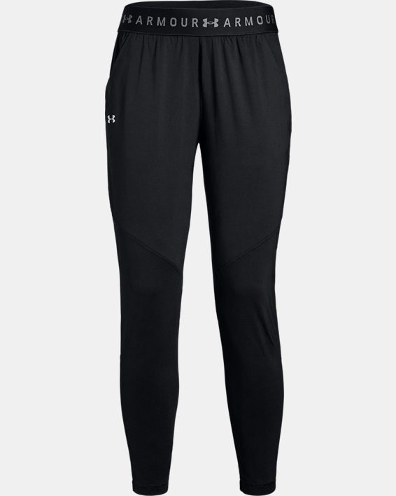 Women's UA Armour Sport Pants, Black, pdpMainDesktop image number 3