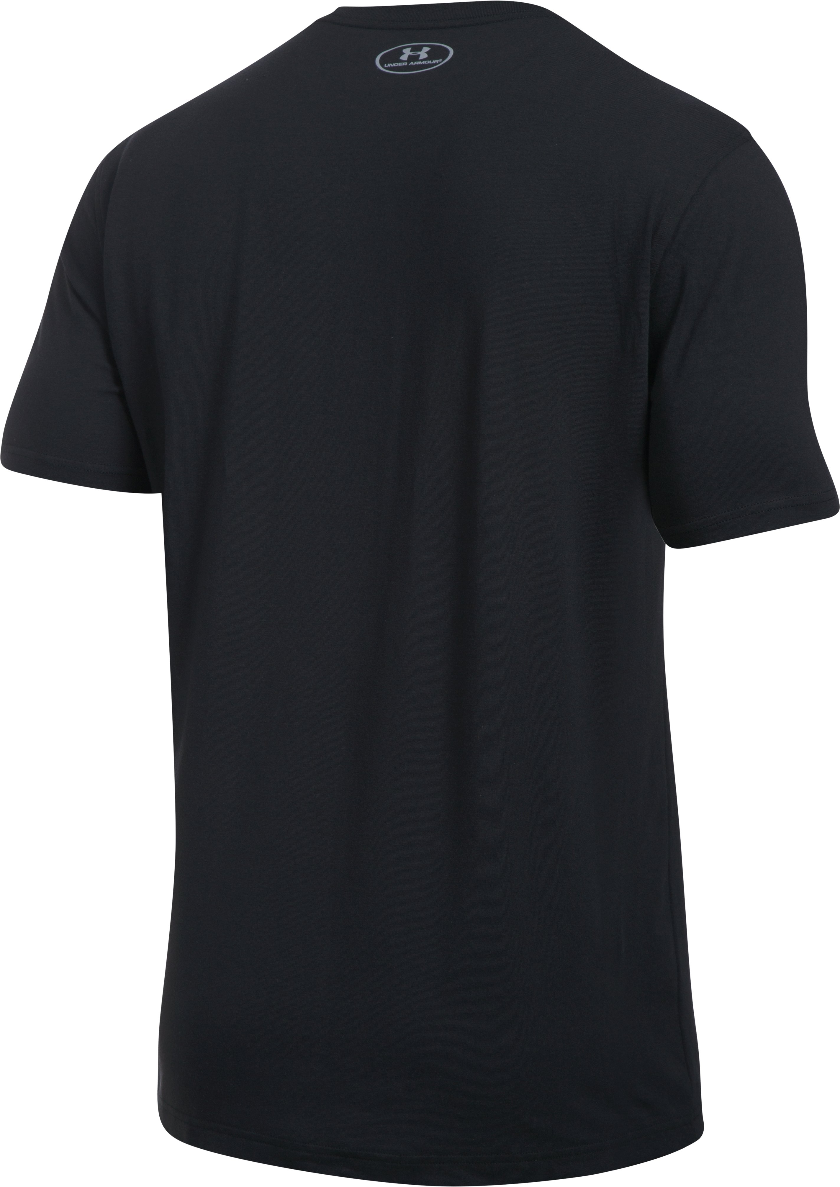 Men's UA Palm Threes T-Shirt, Black , undefined