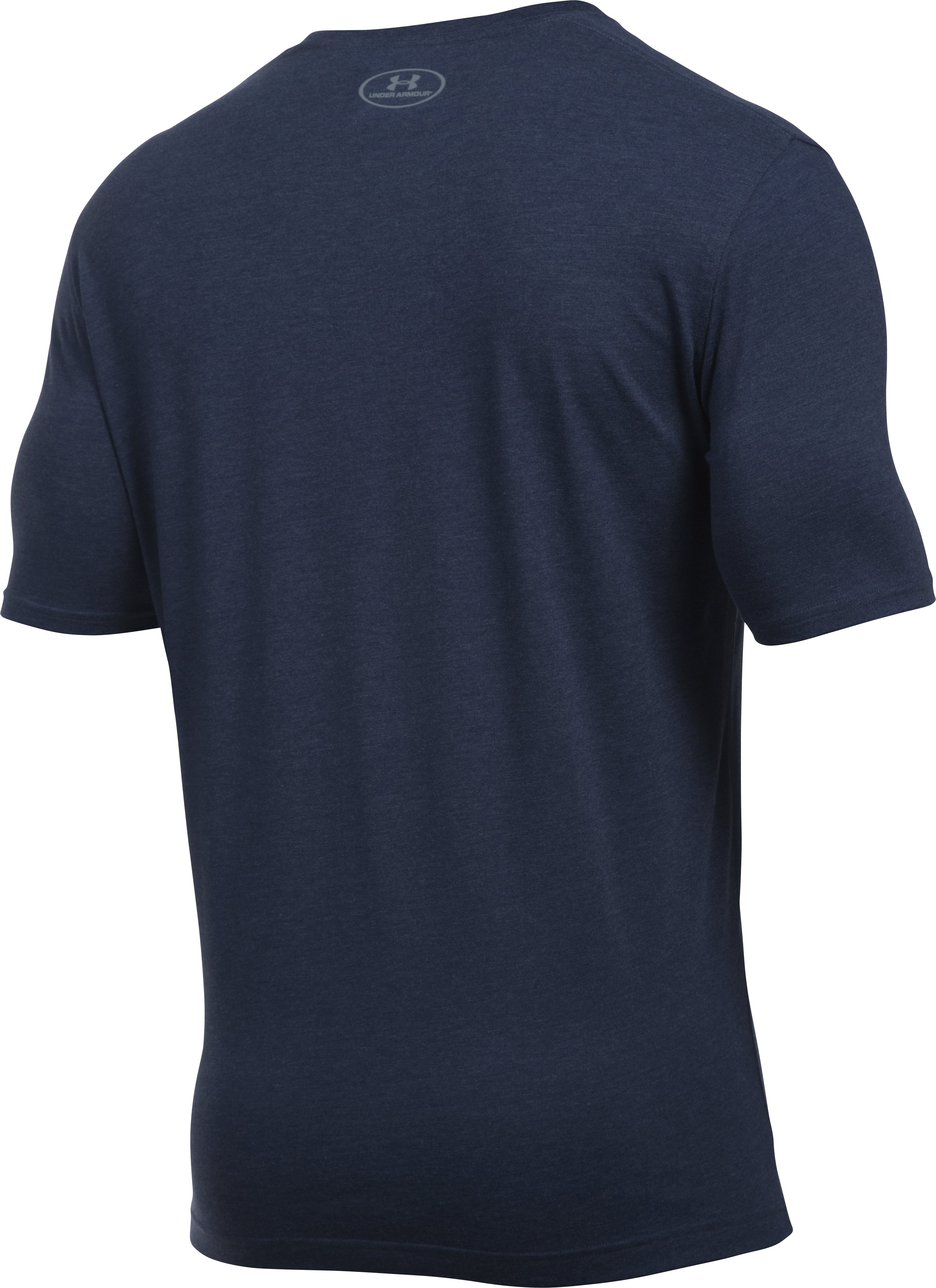 Men's UA Palm Threes T-Shirt, Midnight Navy,