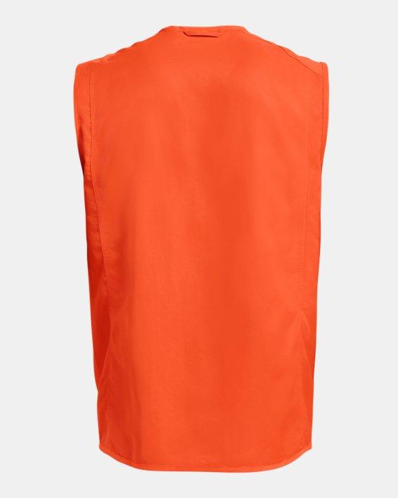 Men's UA Blaze Vest, Orange, pdpMainDesktop image number 4