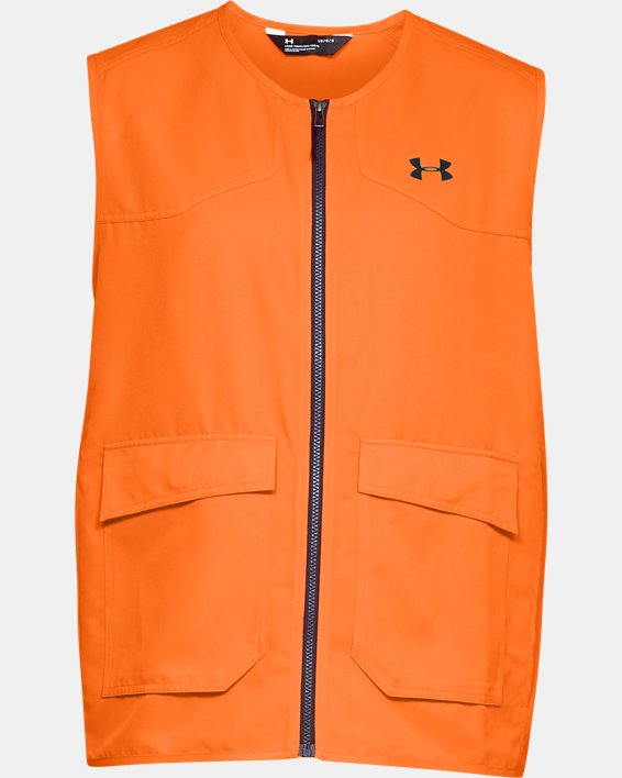 Men's UA Blaze Vest, Orange, pdpMainDesktop image number 3