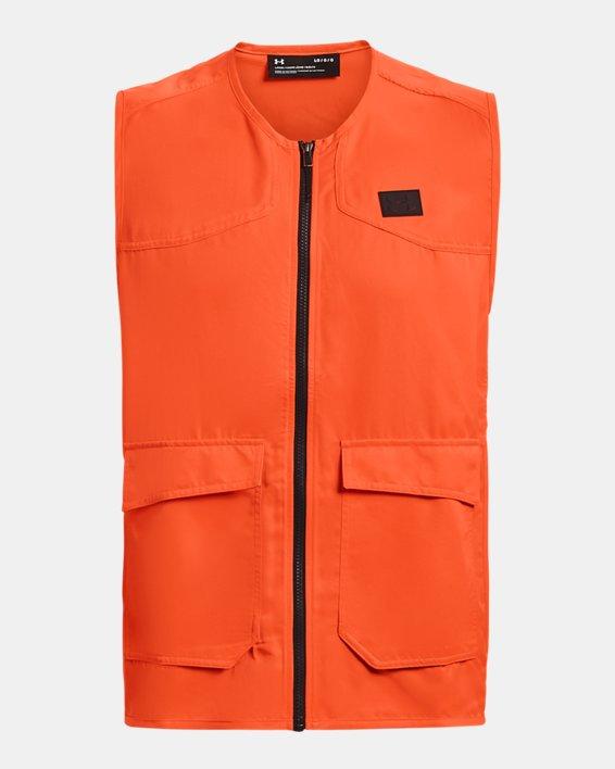 Men's UA Blaze Vest, Orange, pdpMainDesktop image number 3