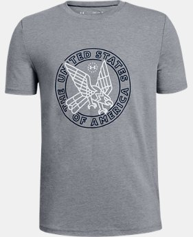 Boys' UA Eagle T-Shirt  2  Colors Available $20