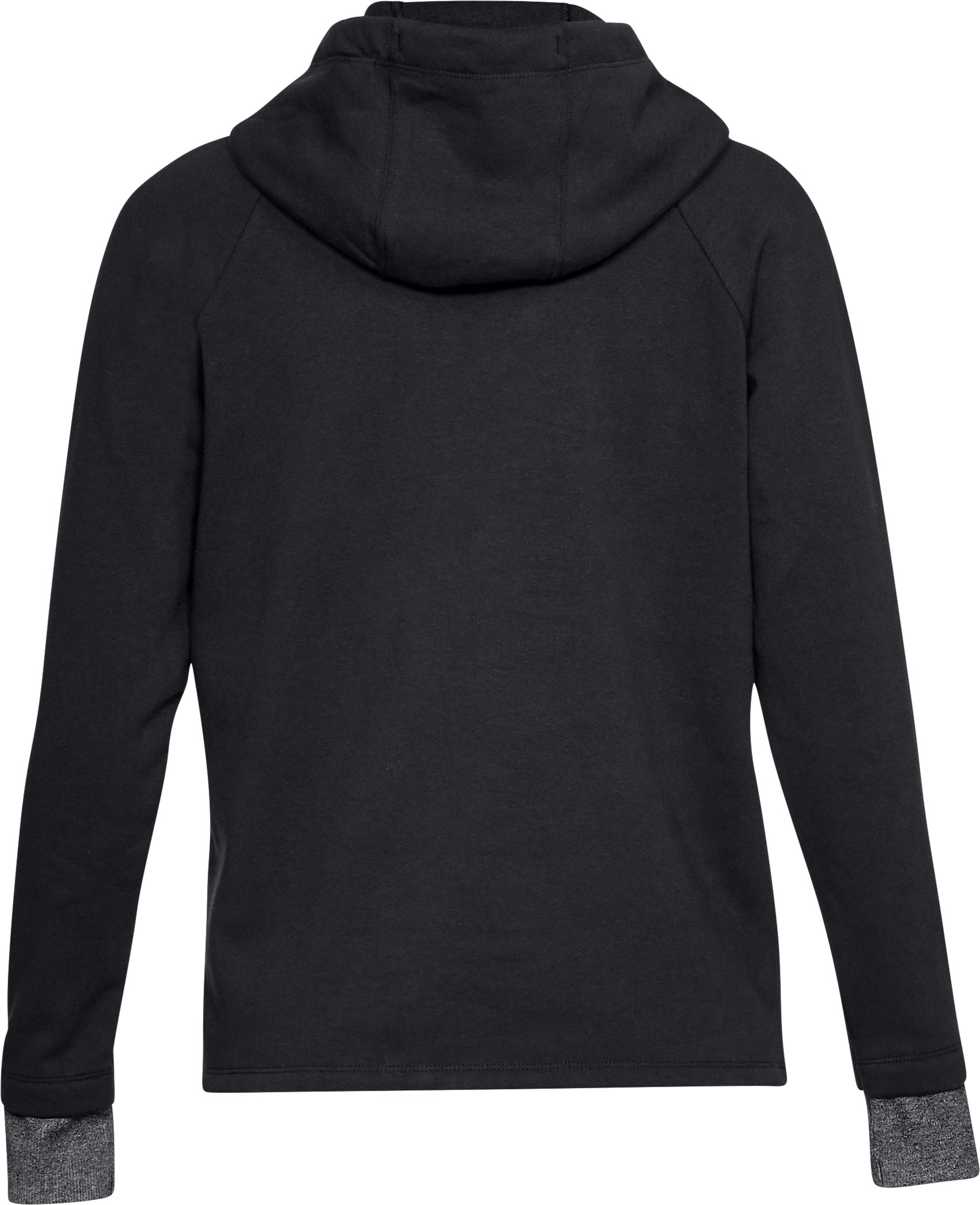 Women's Threadborne Fleece Fashion Hoodie, Black , undefined