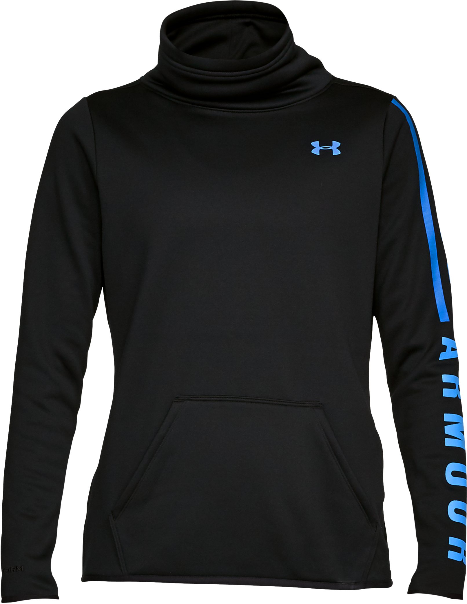 Armour Fleece® Graphic Pullover, Black ,