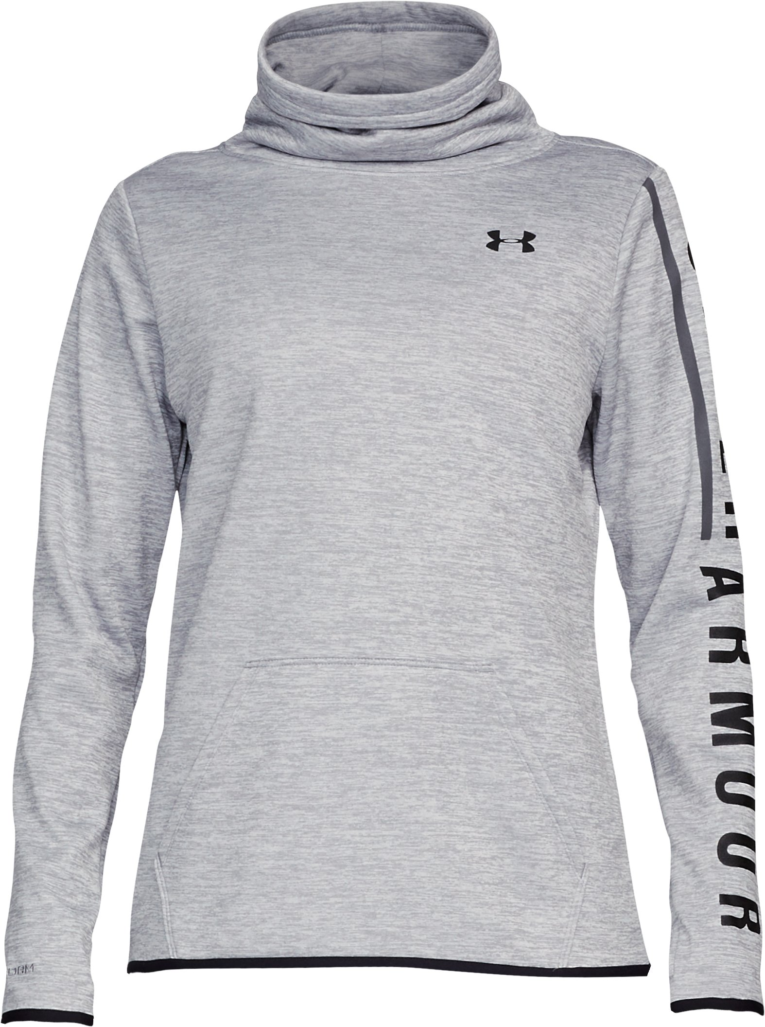 Women's Armour Fleece® Graphic Twist Pullover, Steel,