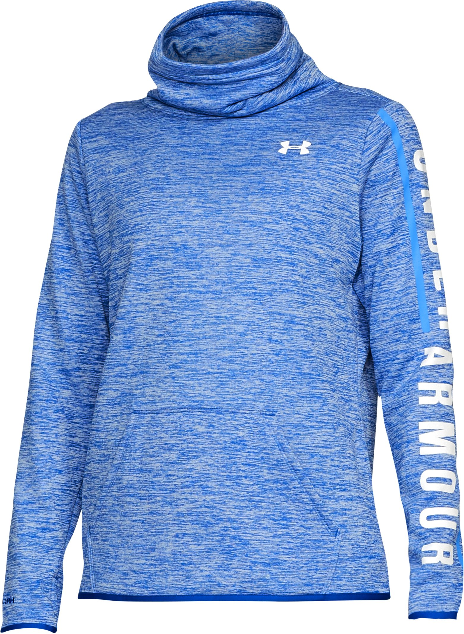 Women's Armour Fleece® Graphic Twist Pullover, LAPIS BLUE,
