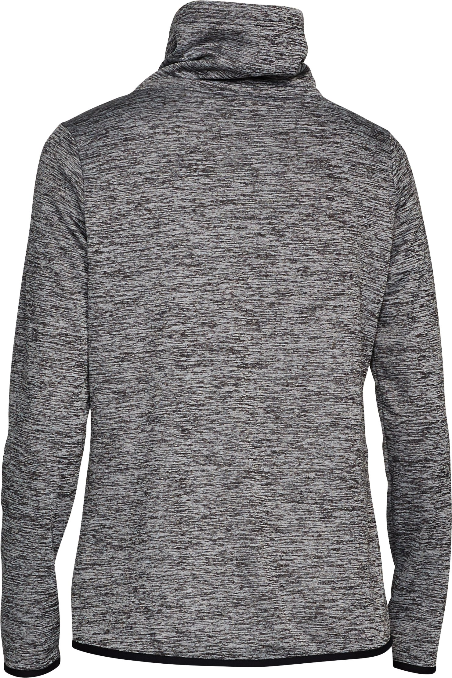 Women's  Armour Fleece® Graphic Twist Pullover, Black , undefined