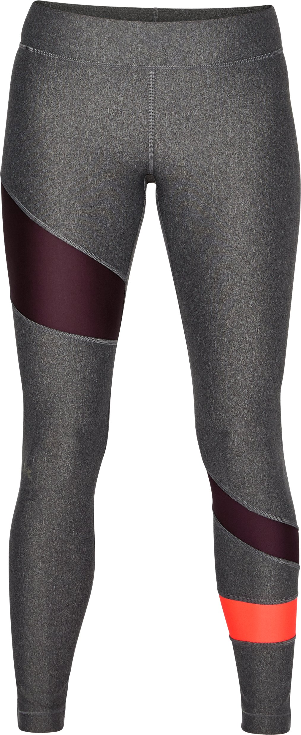 Women's HeatGear® Armour Leggings, Carbon Heather, undefined