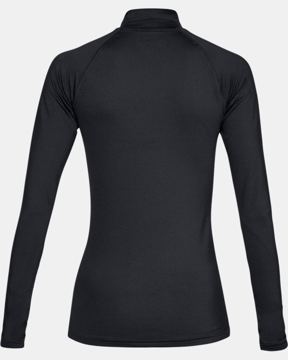 Women's UA Tactical Reactor Mock Base Long Sleeve Shirt, Black, pdpMainDesktop image number 5