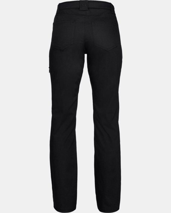Women's UA Enduro Pants, Black, pdpMainDesktop image number 4