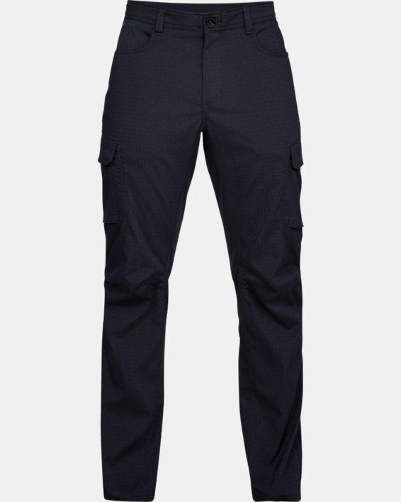 Men's UA Enduro Cargo Pants, Black, pdpMainDesktop image number 4