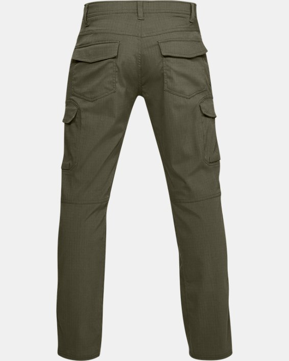 Men's UA Enduro Cargo Pants, Green, pdpMainDesktop image number 5