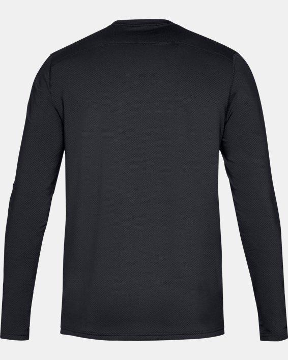 Men's UA Tactical Crew Base Long Sleeve Shirt, Black, pdpMainDesktop image number 4
