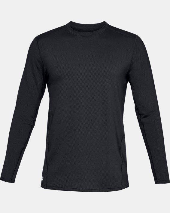 T-shirt à manches longues UA Tactical Crew Base pour homme, Black, pdpMainDesktop image number 3