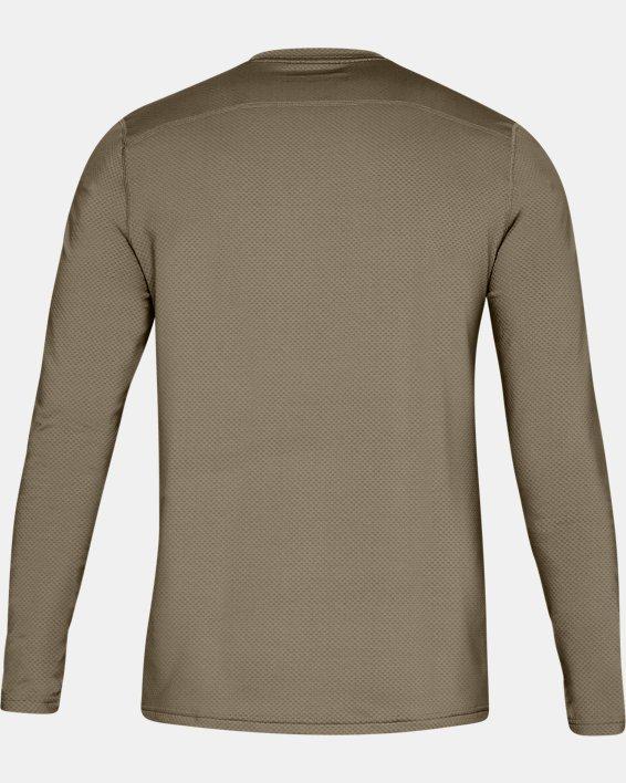 T-shirt à manches longues UA Tactical Crew Base pour homme, Brown, pdpMainDesktop image number 4