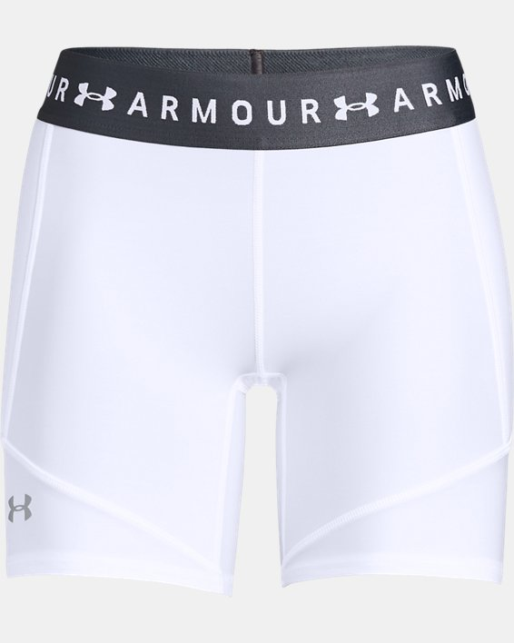 Women's UA Softball Slider Shorts, White, pdpMainDesktop image number 4