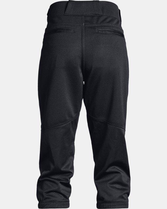 Girls' UA Softball Pants, Black, pdpMainDesktop image number 1