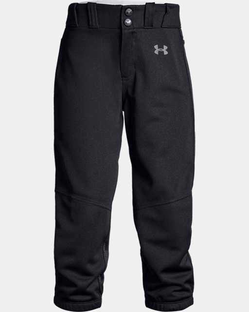 Girls' UA Softball Pants