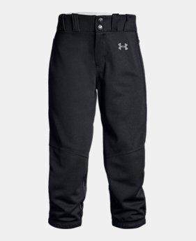d50cf31d771 Girls  UA Softball Pants 3 Colors Available  30