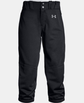 New Arrival Girls' UA Softball Pants  2  Colors Available $25 to $30