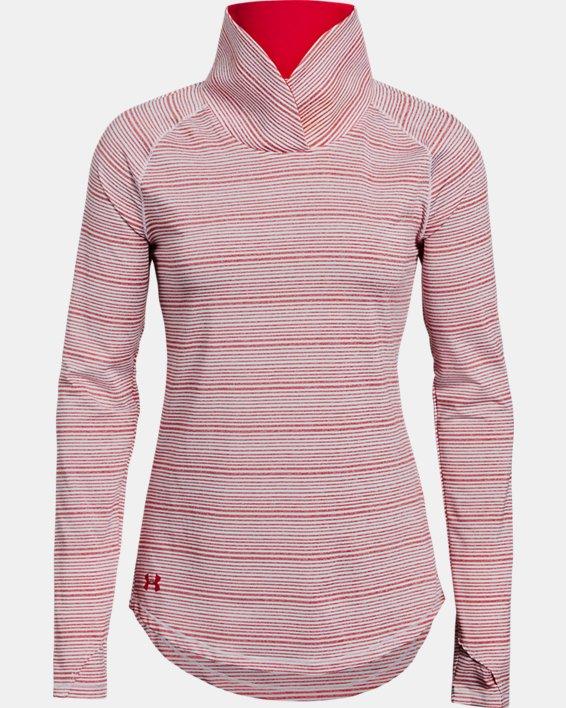 Women's UA Zinger Pullover, Red, pdpMainDesktop image number 3