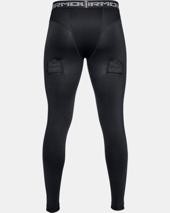 Men's UA Hockey Compression Leggings, Black, pdpMainDesktop image number 5