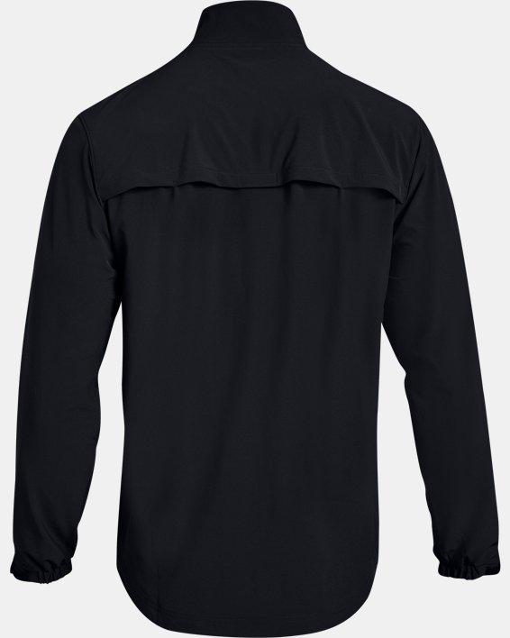 Men's UA Hockey Warm Up Jacket, Black, pdpMainDesktop image number 5