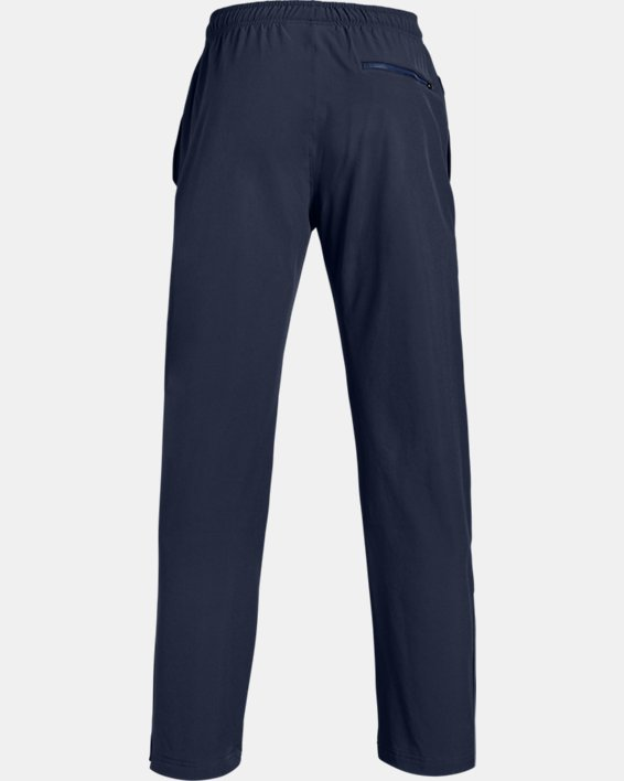 Men's UA Hockey Warm Up Pants, Navy, pdpMainDesktop image number 4
