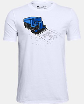 New Arrival  Boys' UA Zamboni T-Shirt  1  Color Available $25