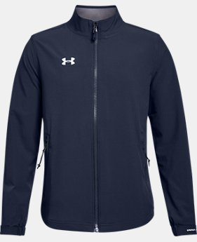Boys' UA Hockey Warm Up Jacket  2  Colors Available $70